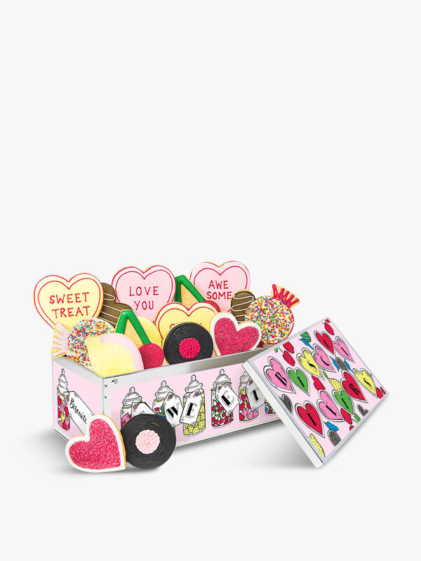 Love Is Sweet Luxe Biscuit Tin