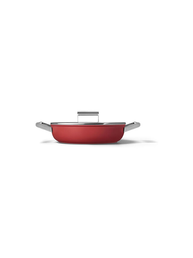 Shallow Casserole Pan 28cm with Lid