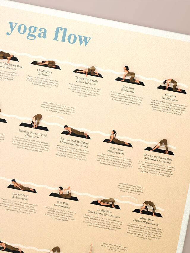 Yoga Flow Wall Chart
