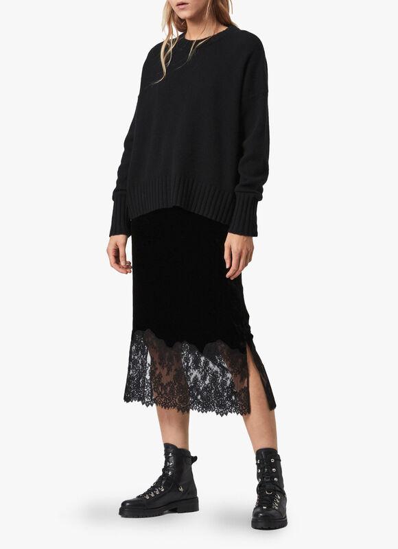 Bridgette Velvet Skirt