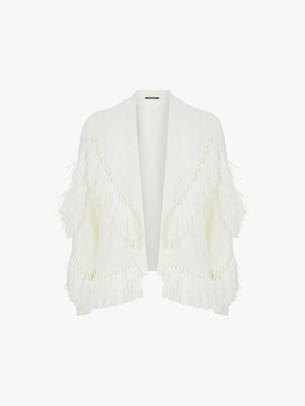 Clea Lux Wool Blend Fringe Knit