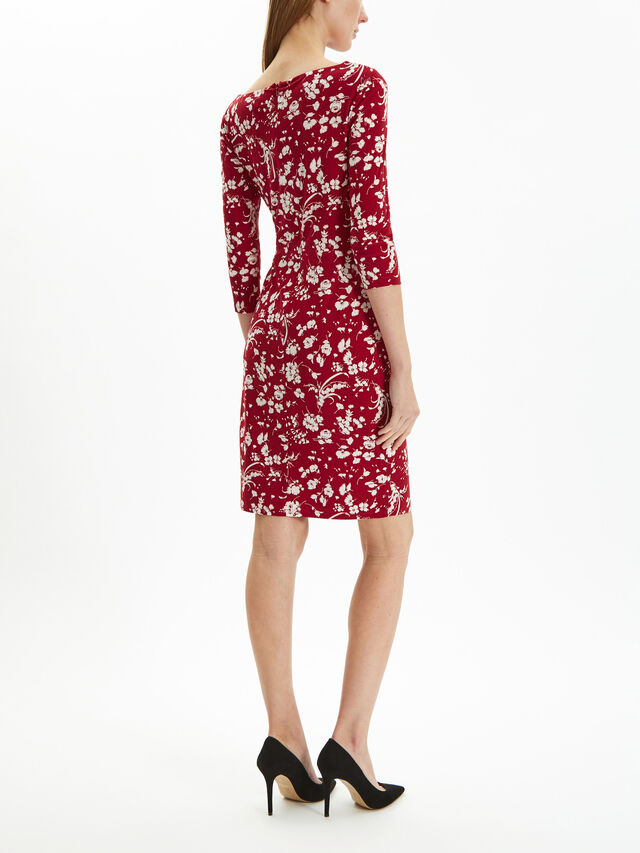 Trava 3/4 sleeve day dress