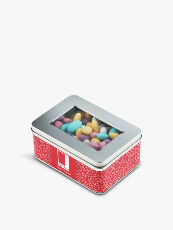 Sugared Almonds Tin 500g