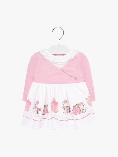 Purse-and-Cat-print-Dress-0001075666