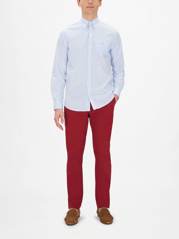 Banker Stripe Broadcloth Shirt