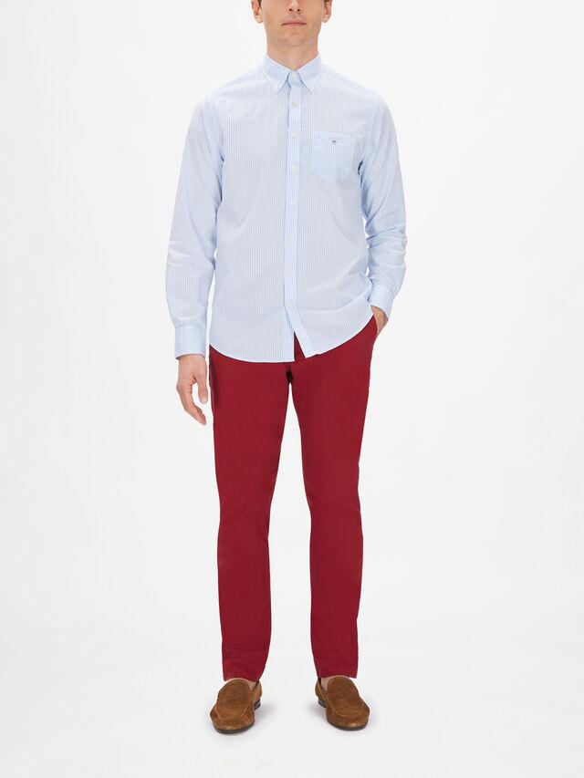 Banker Stripe Broadcloth Shirt