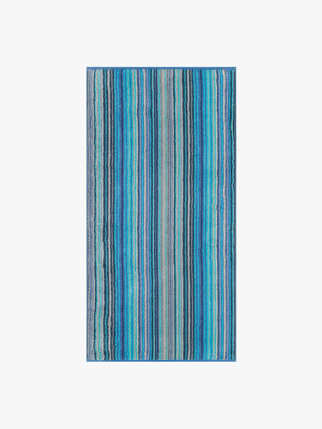 Two Tone Stripe Face Towel
