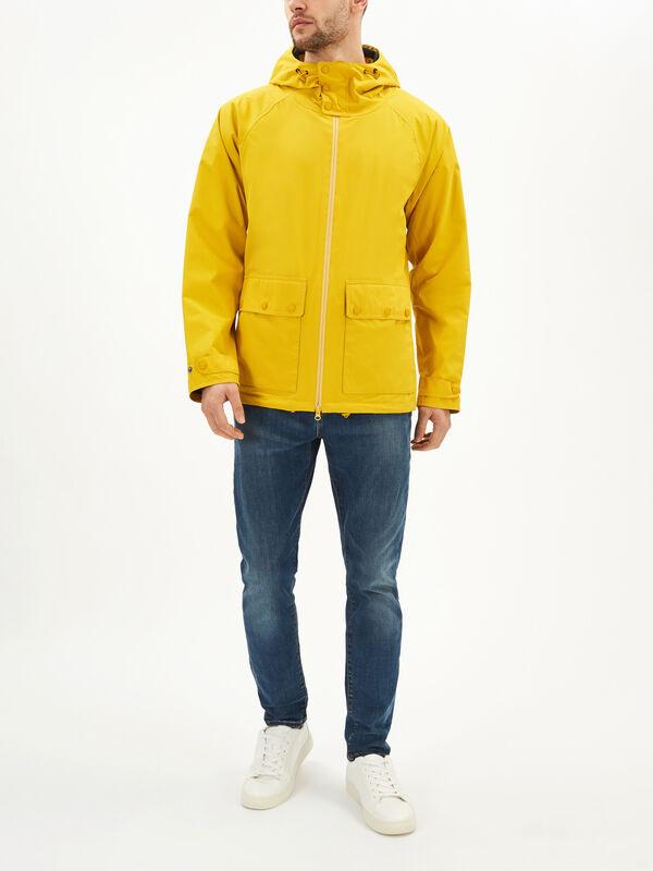 Weld Hooded Waterproof Jacket