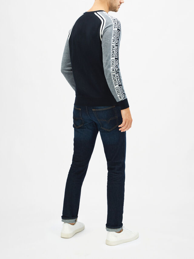 Taped Knit Sweater
