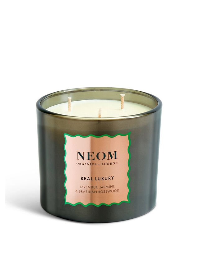 Real Luxury Limited Edition 3 Wick Candle
