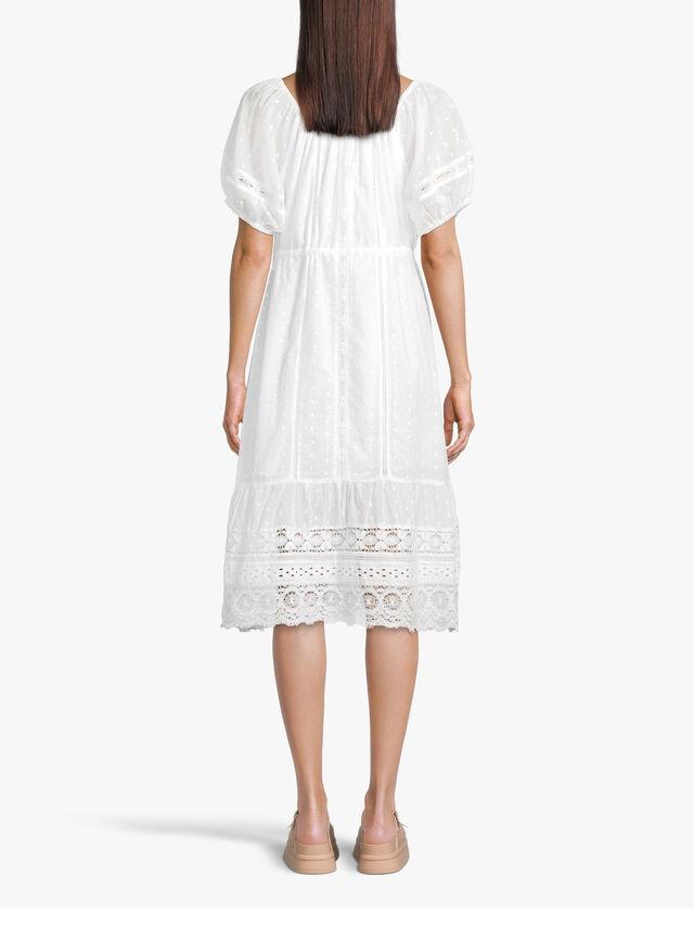 Adalyn Lace Hem Midi Dress