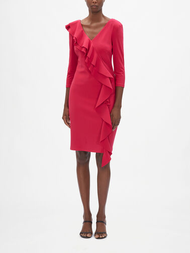 Ruffle-3-4-Slv-Dress-0001188618