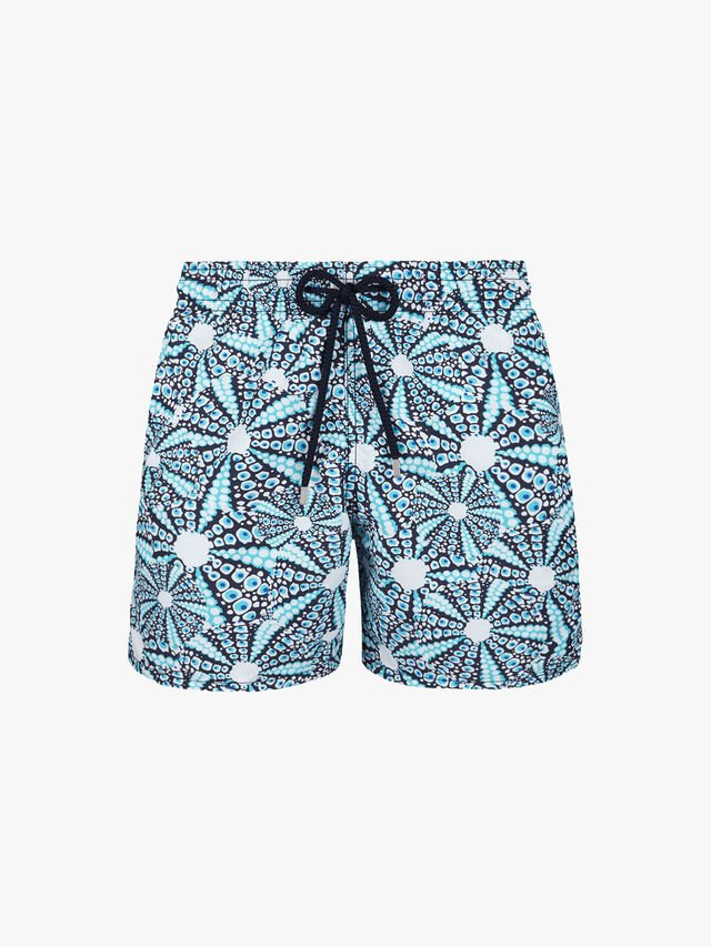 Moorea Starfish Shell Print Swim Shorts