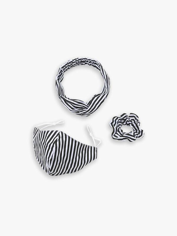 Mask & Hair Accessories Set