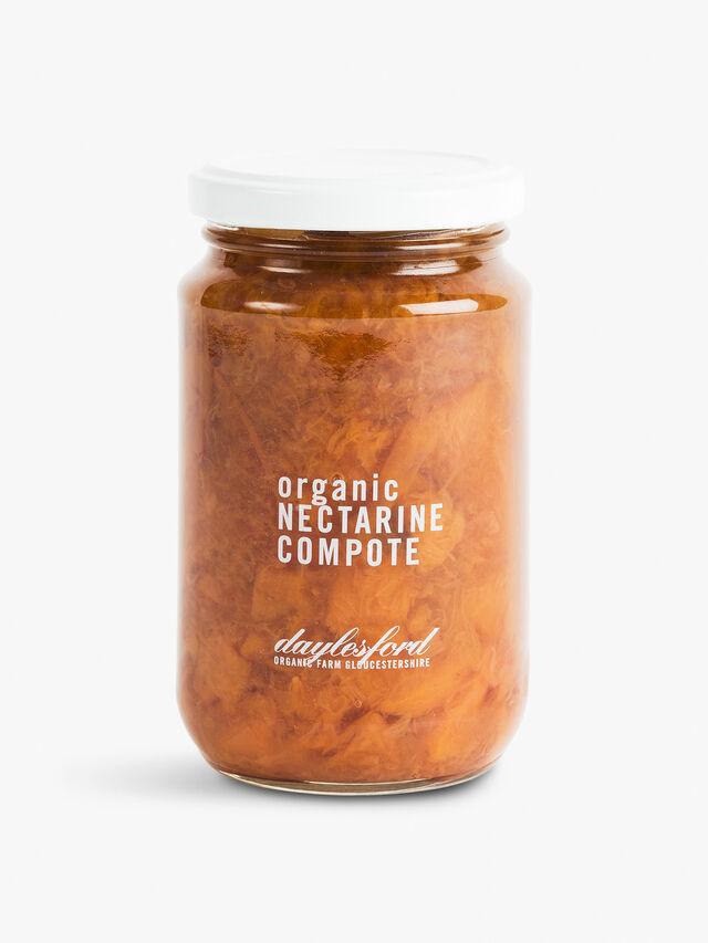Organic Nectarine Compote 385g