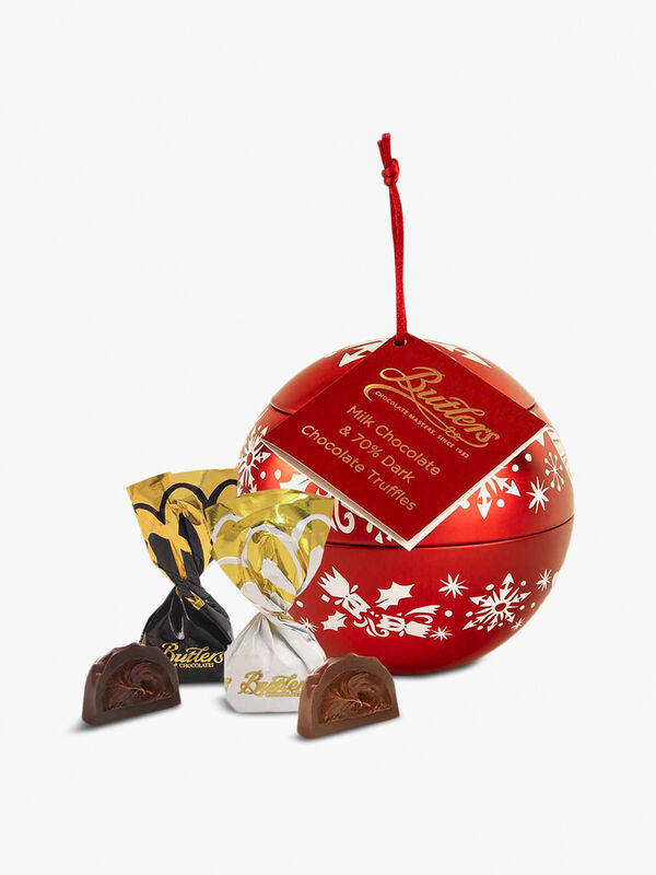 Bauble with Pralines Truffles and Caramels 150g