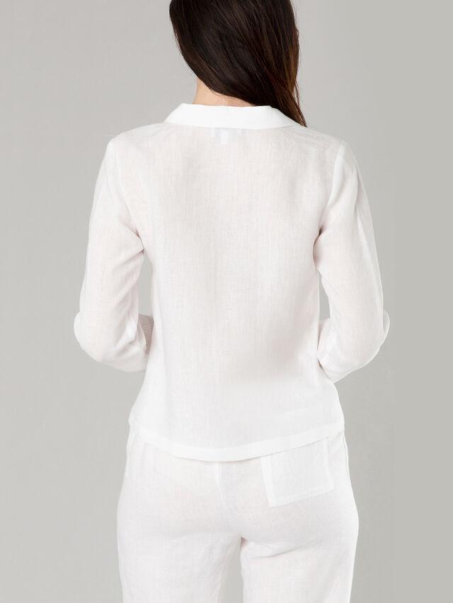 Linen cubana shirt