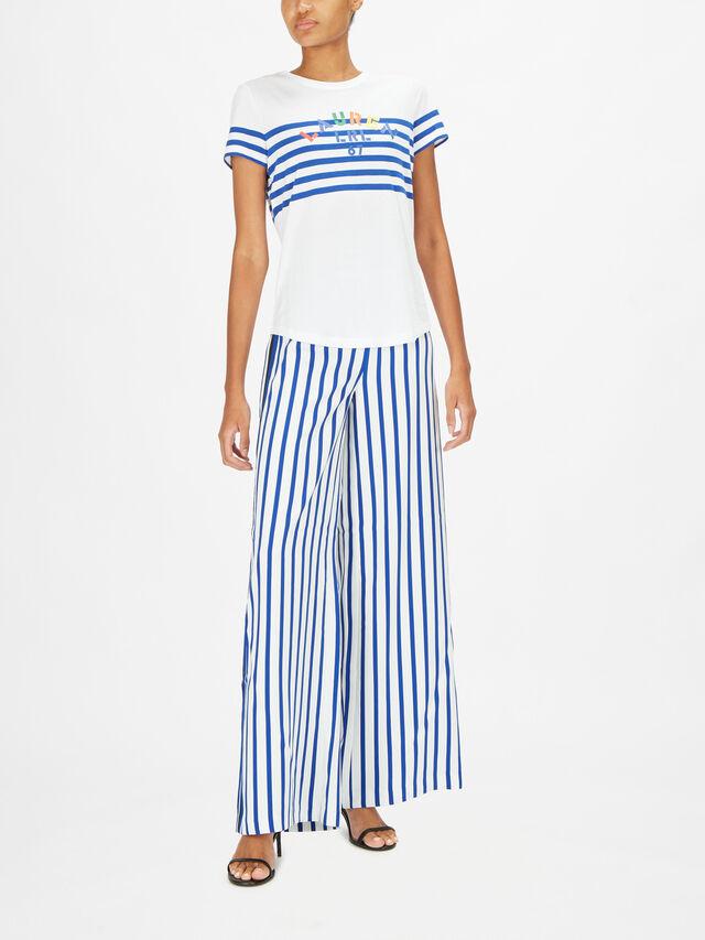 Heilid Engineered Stripe T Shirt