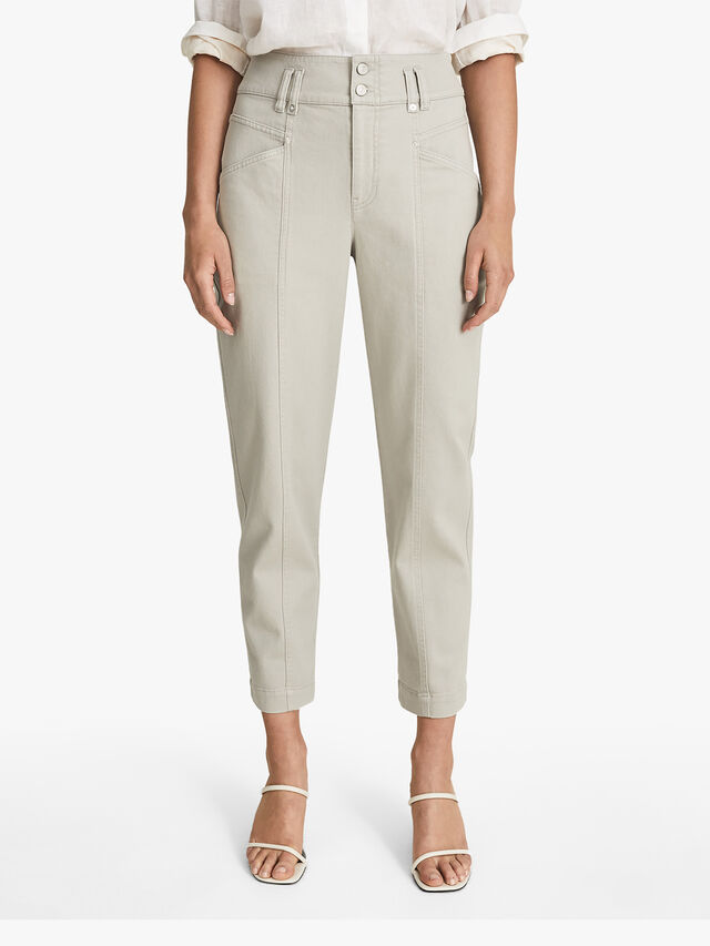 Baxter Relaxed Tapered Fit Trousers
