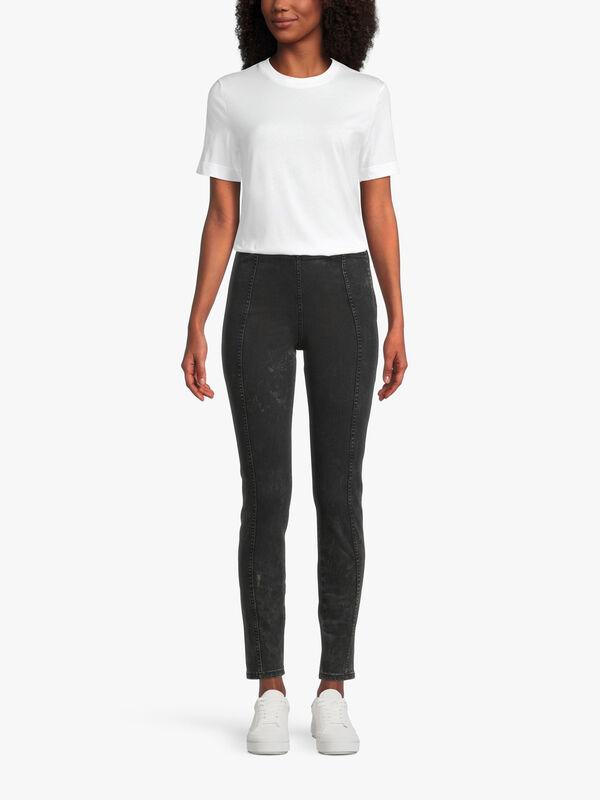 Skinny Seam Front Jean