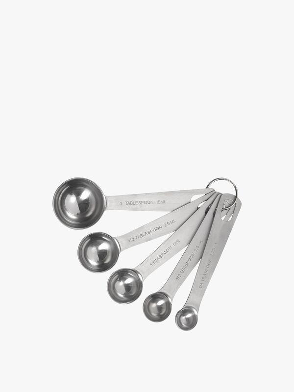 Set of 5 Measuring Spoons