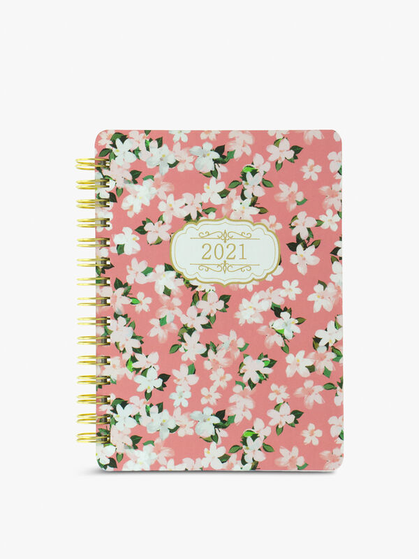 Bloom A6 Wiro Diary Week to View