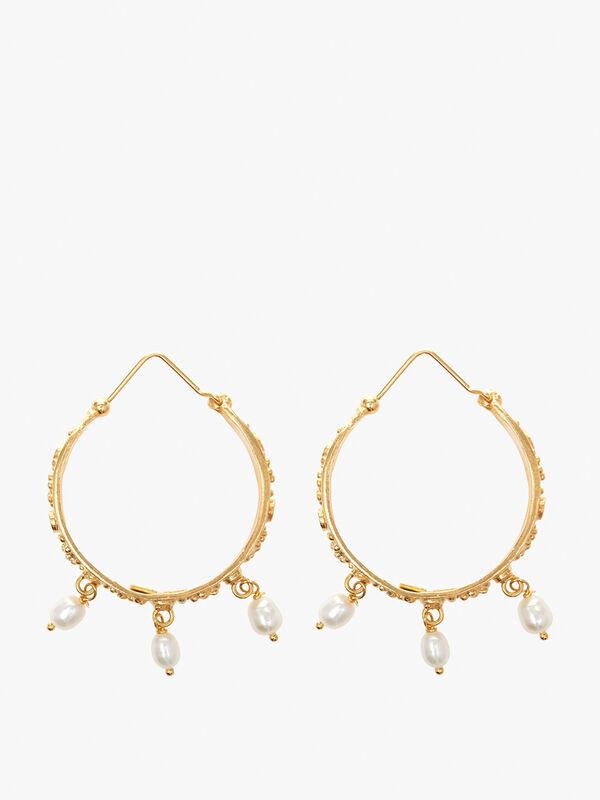 Treasures Tuscan Hoop Earrings