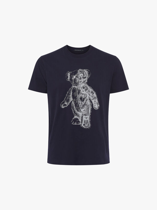 Teddy Bear Skeleton T Shirt