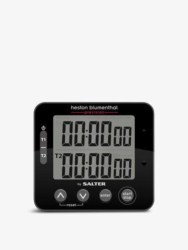 Heston Blumenthal Electronic Digital Dual Kitchen Timer