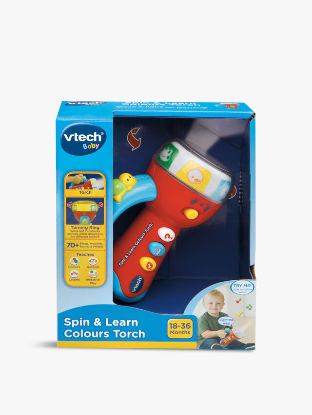 Spin & Learn Colours Torch