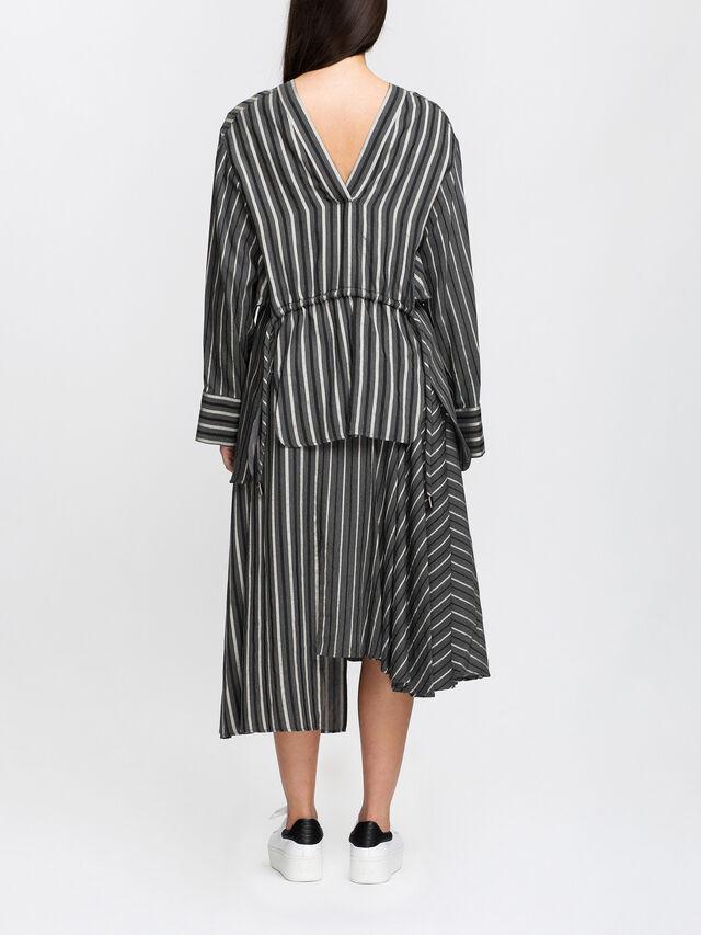 Multi Stripe Blouse