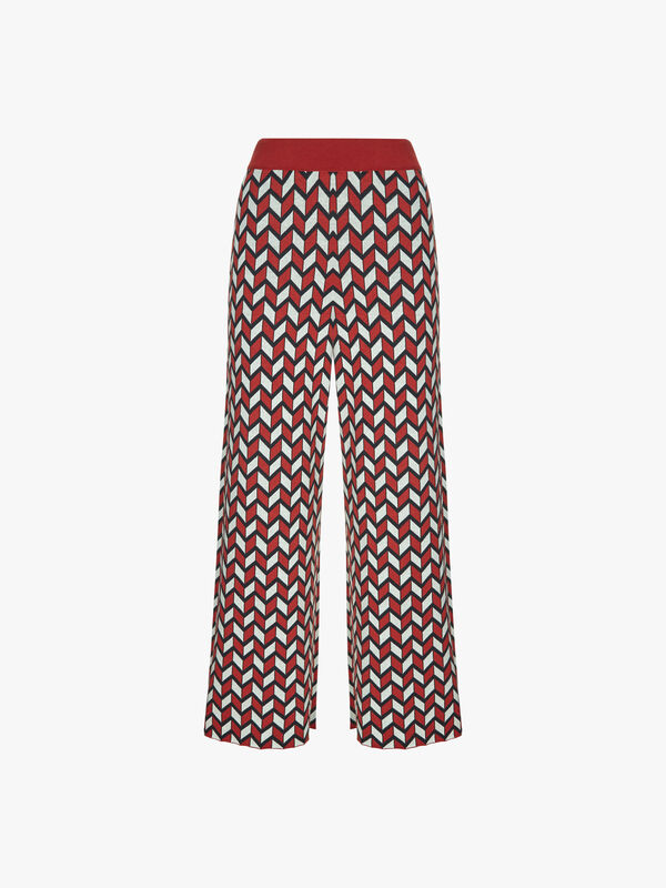 Ancora Knitted Trouser