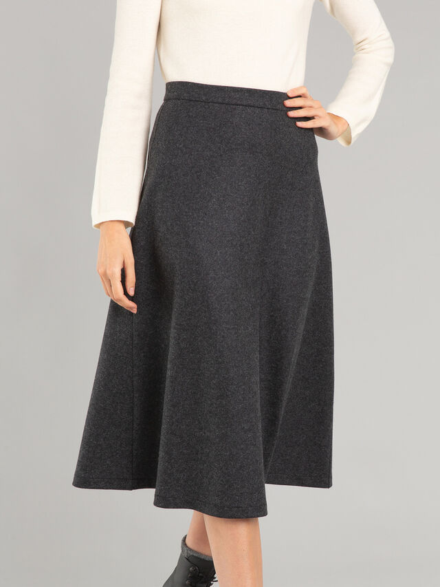 Long Zipped Skirt