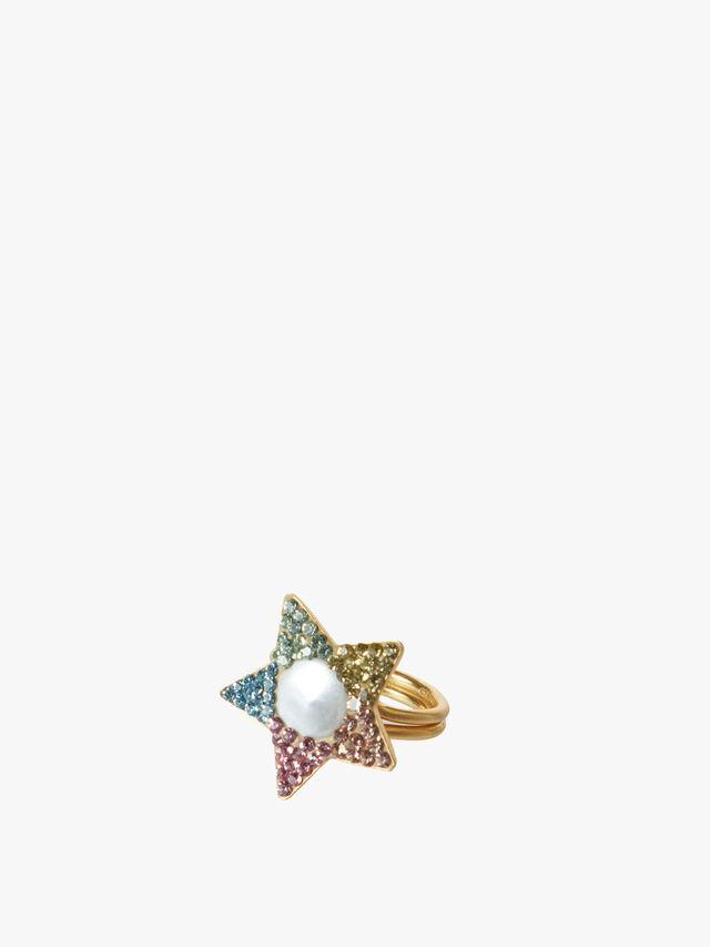 Rainbow Star Ring
