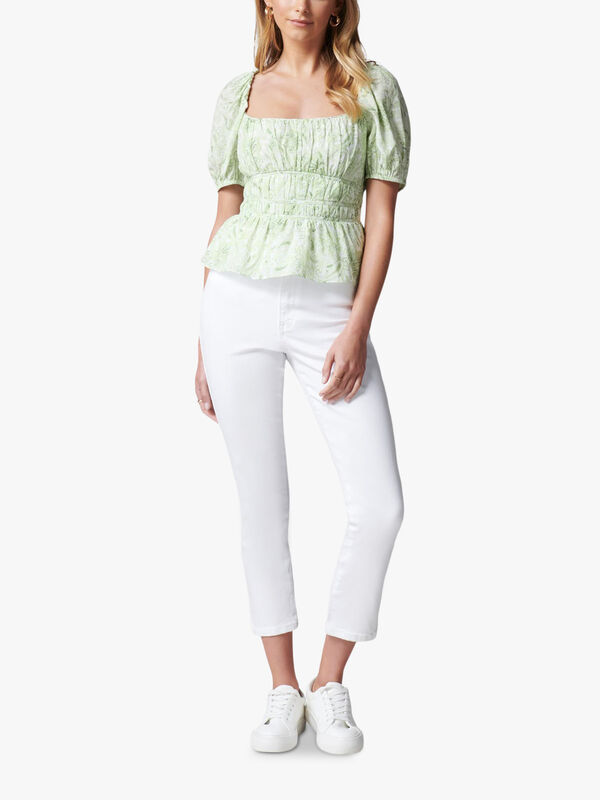 Melody Rouched Waist Blouse