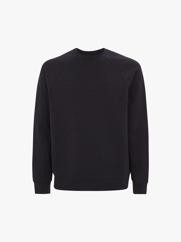 Embossed Eagle Sweatshirt