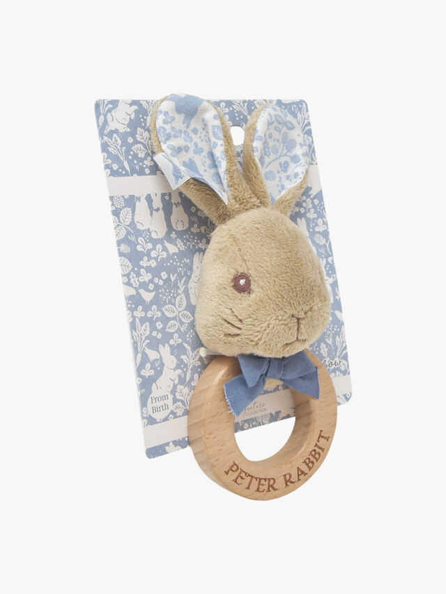 Peter Rabbit Signature Ring Rattle