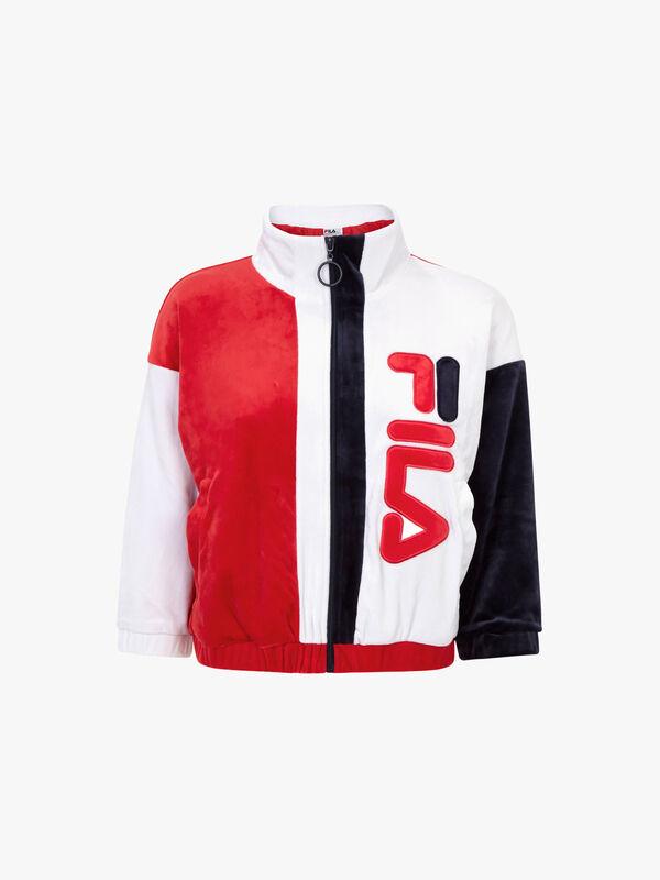 Aya Velour Track Jacket