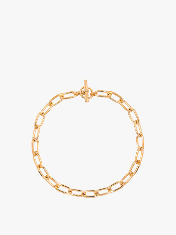 Medium Oval Chain Necklace
