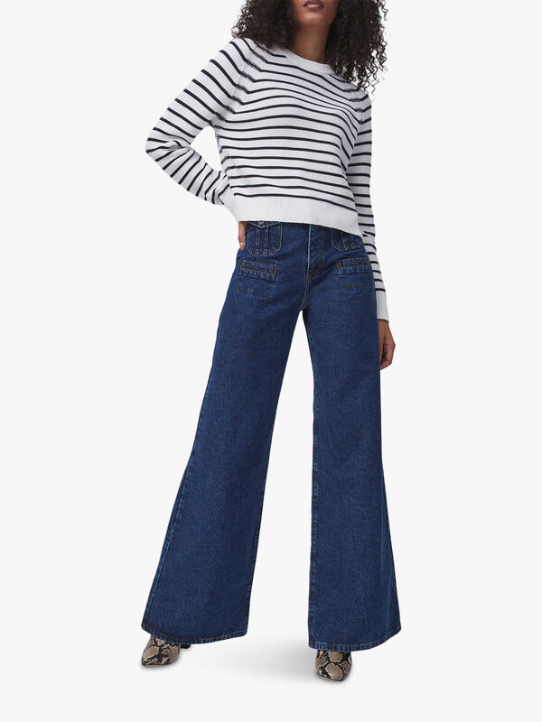 Lillie Mozart Stripe Knit Jumper