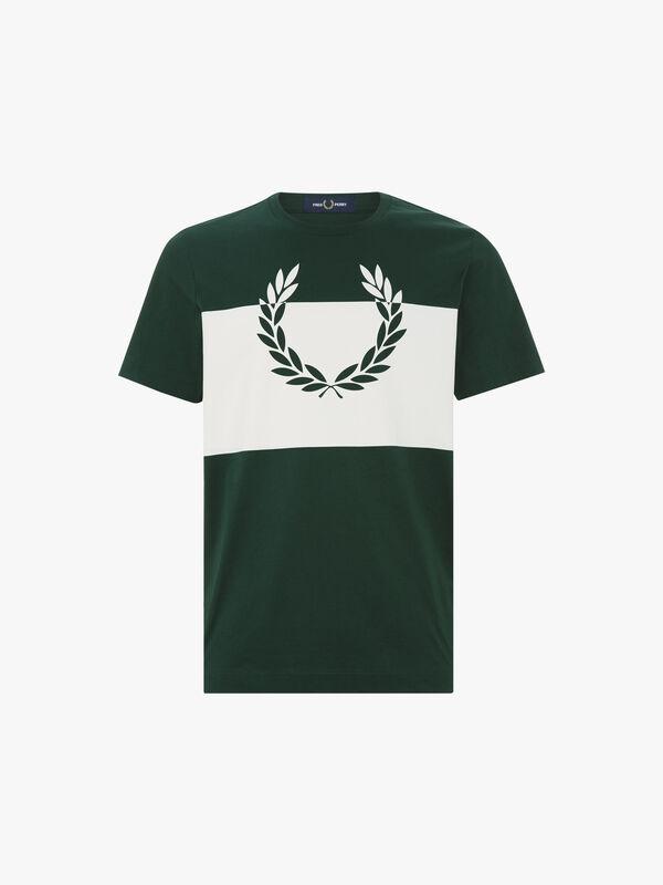 Printed Laurel Wreath T-Shirt