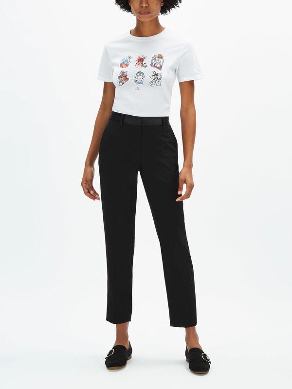 Fenwick Exclusive Printed T Shirt