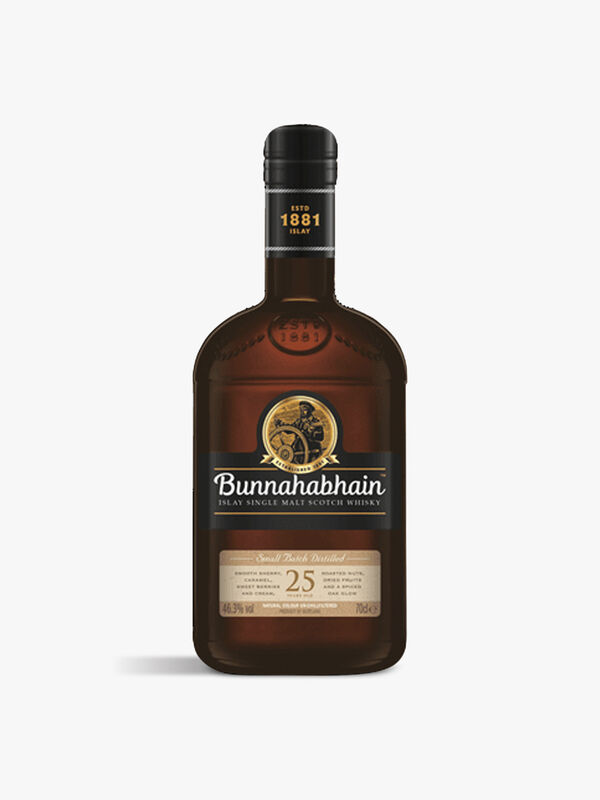 Bunnahabain 25yr Single Malt Whisky 70cl