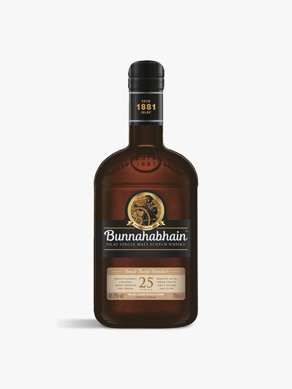 Bunnahabain 25yr Single Malt Whisky 70cl