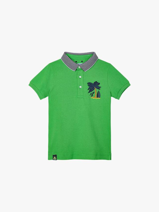 Palm Tree Polo Shirt