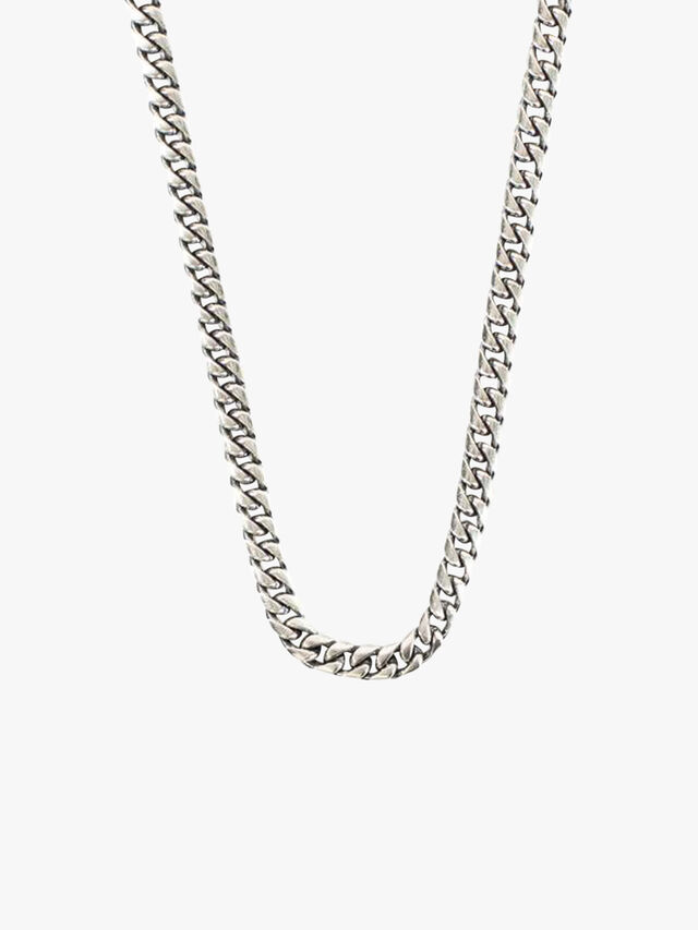 Silver Scale Necklace