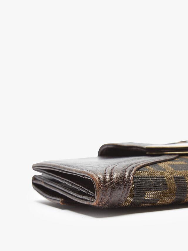 Fendi Zucca Long Wallet