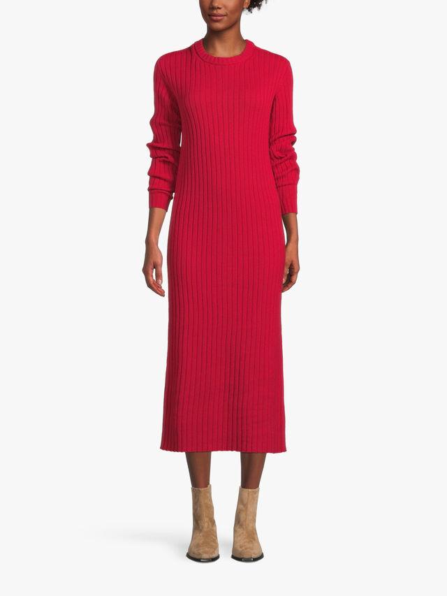 LS Crew Neck Knit Dress