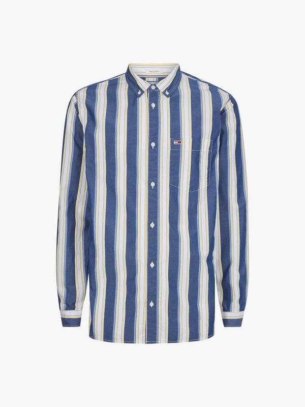 Classic Poplin Stripe Shirt