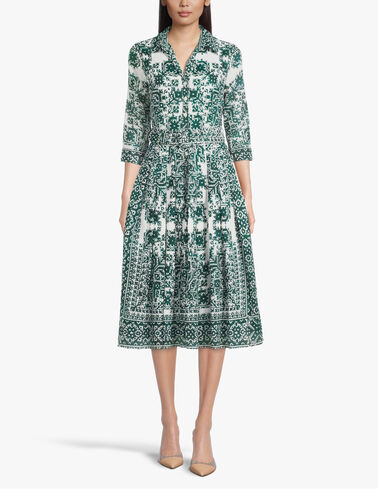 3-4-Sleeve-Moroccan-Embroidery-Midi-Dress-Audrey2